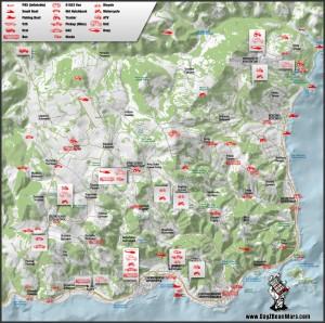chernarus Vehicle-spawn-map