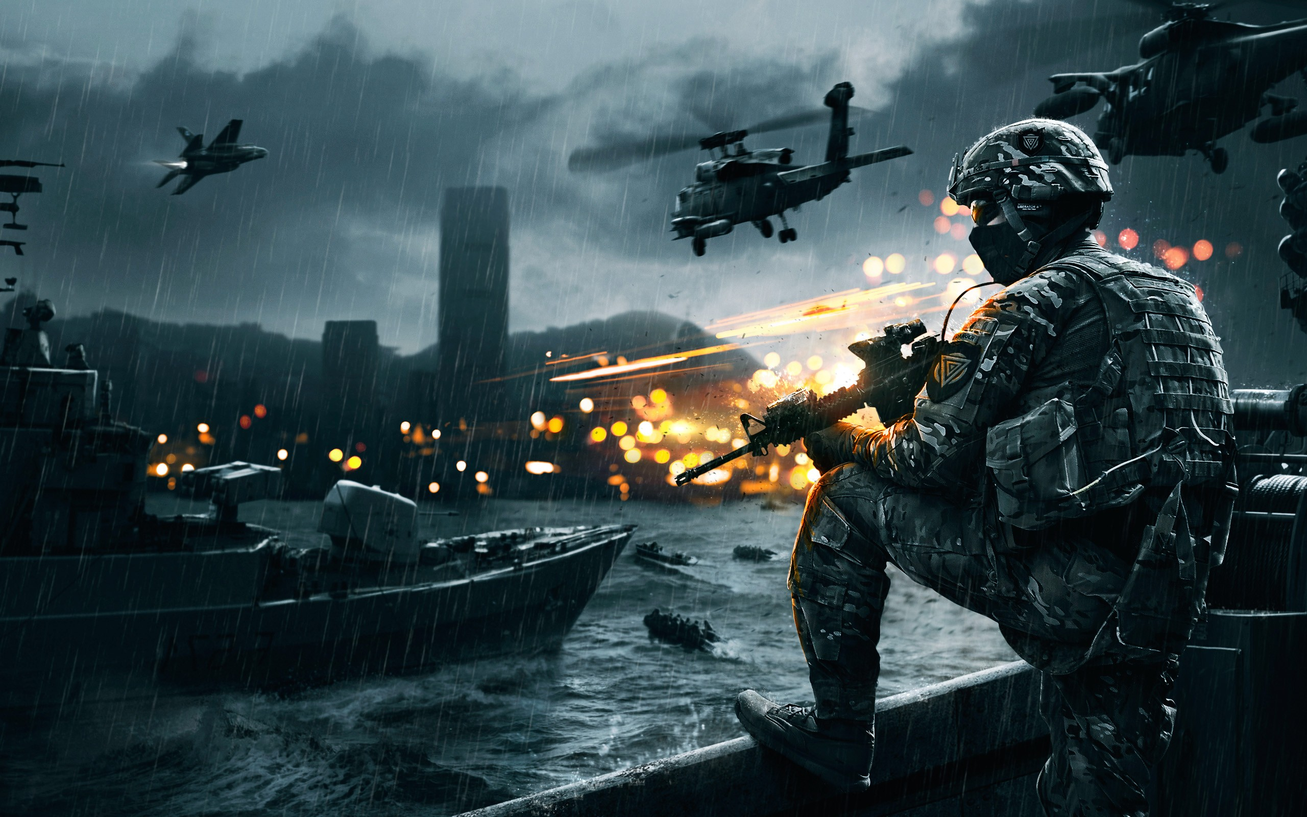 battlefield 4 wallpaper siege of shanghai 247 gaming