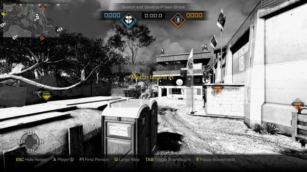 Cod Ghosts boradcasters mode